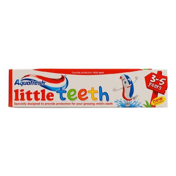 خمیر دندان کودک آکوا فرش Aquafresh مناسب 3 تا 5 سال