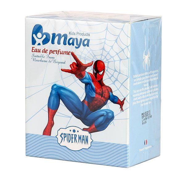 عطر و ادکلن بچگانه مایا مدل spider man حجم 50 میلی لیتر