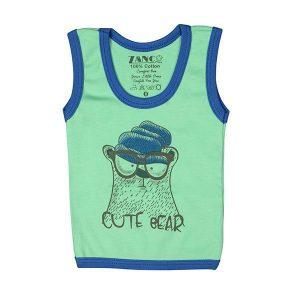 تی شرت اسپرت آستین حلقه ای زانکو طرح خرس بامزه