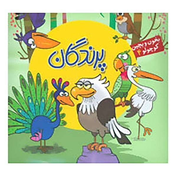 کتاب بخون و بچین داستان پرندگان