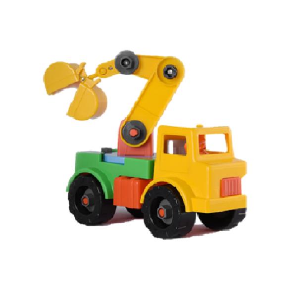 کامیون ساختنی crane truck نیکو تویز