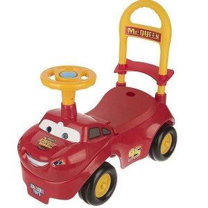 ماشین سواری موزیکال کودک زرین تویز طرح mc queen