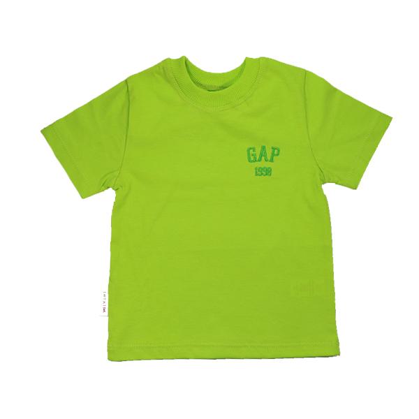 تیشرت اسپرت آستین کوتاه تاپ کیدز طرح Gap سبز