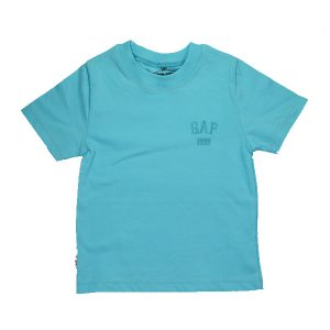 تیشرت اسپرت آستین کوتاه تاپ کیدز طرح Gap آبی