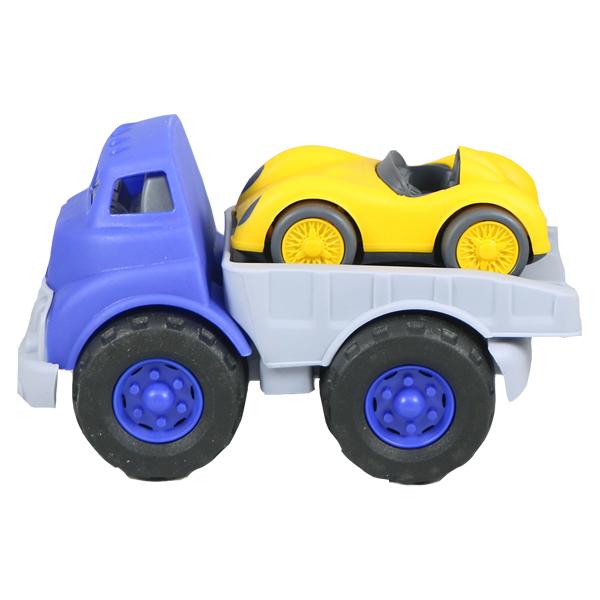 ماشین بازی نیکو تویز طرح کامیون حمل ماشین مسابقه