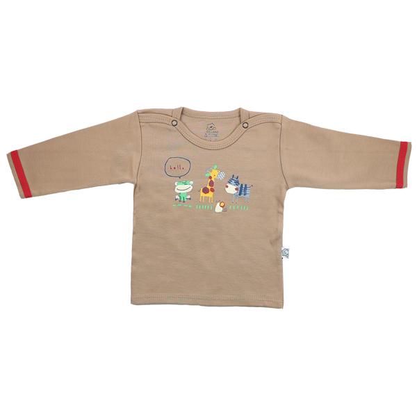 تی شرت اسپرت آستین بلند لیدولند طرح زوو