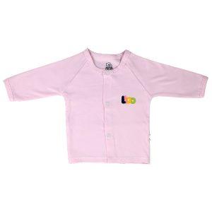 تی شرت نوزادی دخترانه جلو دکمه دار لیدولند