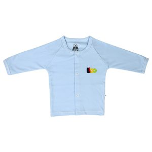 تی شرت نوزادی پسرانه جلو دکمه دار لیدولند