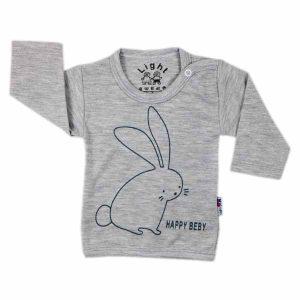 تی شرت اسپرت آستین بلند لایت طرح خرگوش