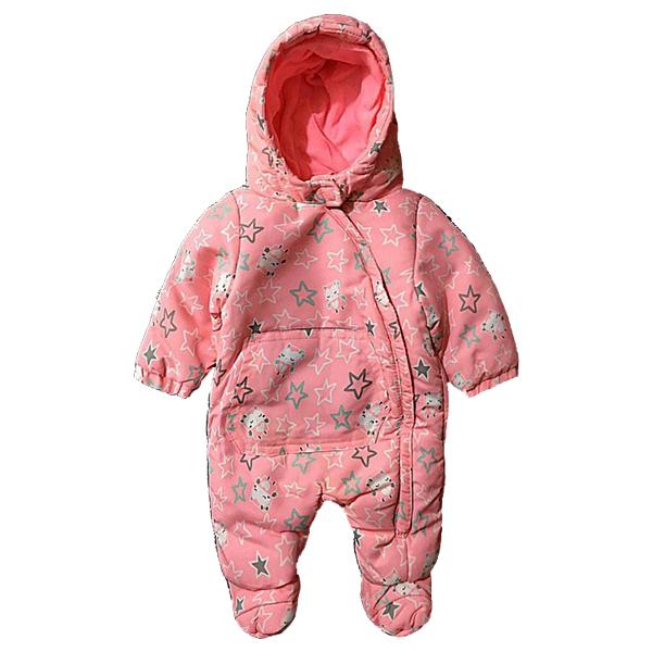 کاپشن سرهمی نوزاد تو کرک دار Pepco طرح ستاره