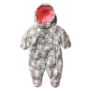 کاپشن سرهمی نوزاد تو کرک دار Pepco طرح خرس