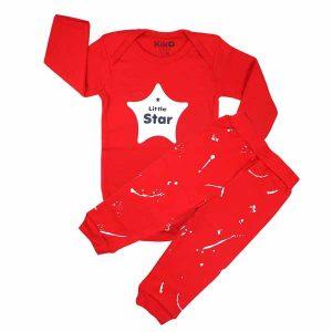 ست بادی و شلوار اسپرت کیکو طرح ستاره