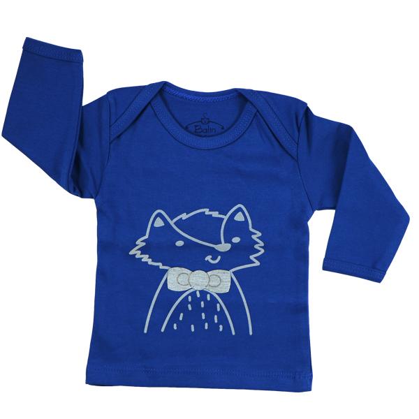 تی شرت اسپرت آستین بلند بالین طرح راکن