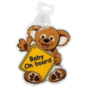 آویز هشدار کودک مادرکر Mothercare طرح خرس
