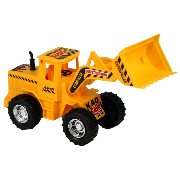 ماشین اسباب بازی قدرتی لودر کوچک درج توی