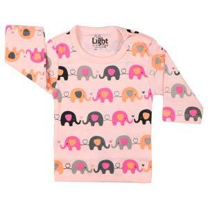 تی شرت اسپرت آستین بلند لایت طرح فیل