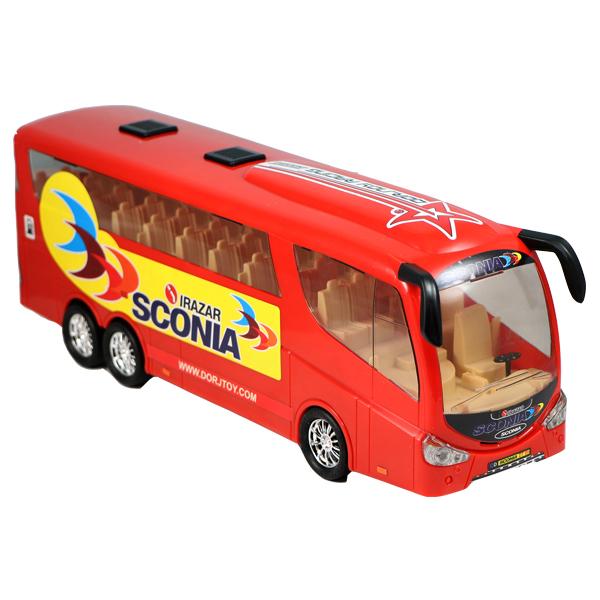 اتوبوس اسباب بازی توریستی درج توی مدل اسکانیا
