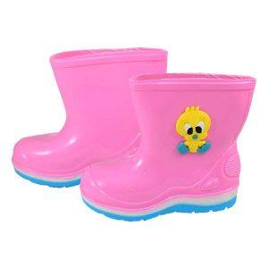 چکمه بارانی بچه گانه پایون رنگ صورتی