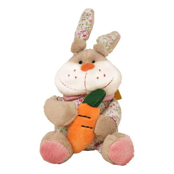 عروسک پولیشی خرگوش هویج به دست کوچک