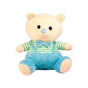 عروسک پولیشی خرس پاپیونی