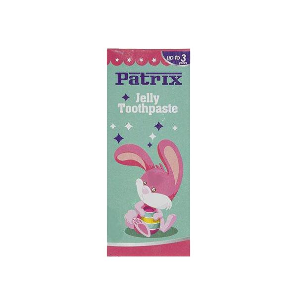 خمیر دندان ژله ای کودک پاتریکس (Patrix) طرح خرگوش