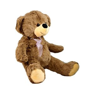 عروسک پولیشی خرس پاپیون دار