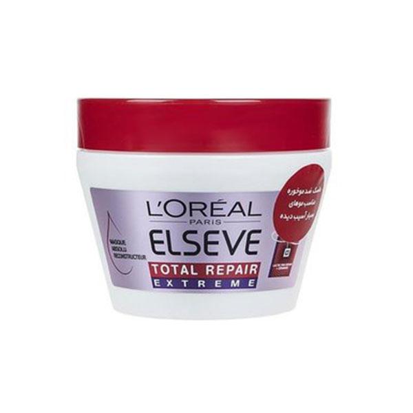 ماسک مو بازسازی کننده قوی لورال مدل Total Repair