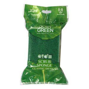اسکاچ Just green مدل Scrub sponge