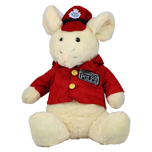 عروسک پولیشی موش پلیس قرمز