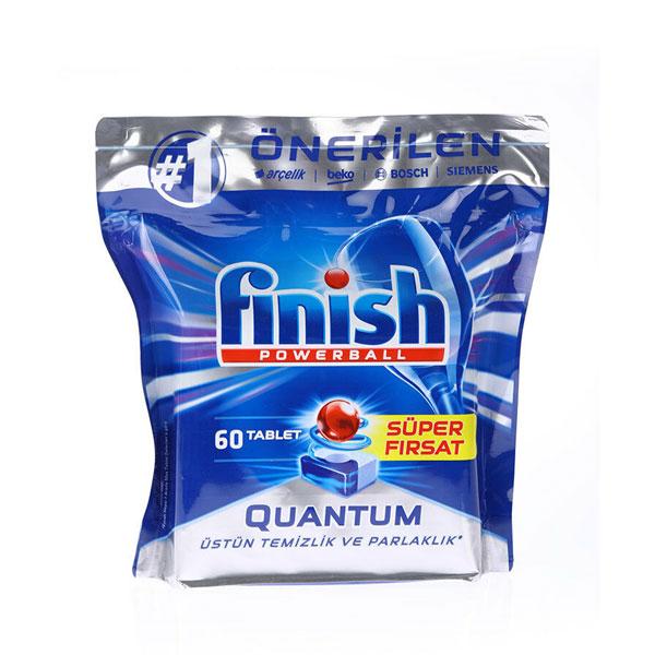 قرص ماشین ظرفشویی فینیش مدل Quantum بسته 60 عددی