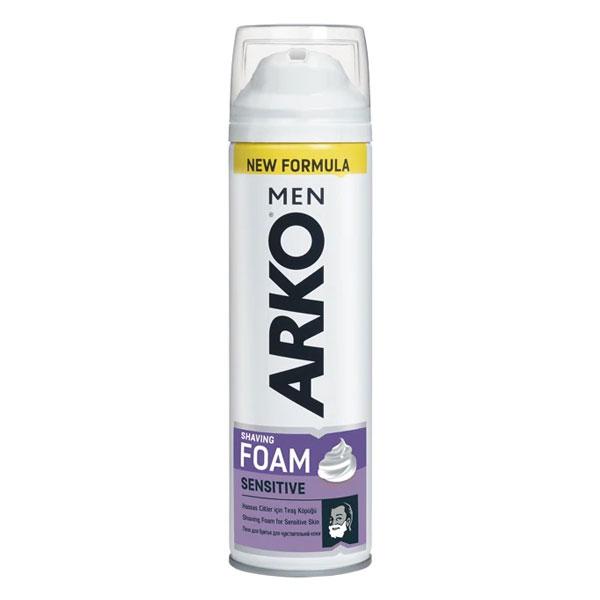 فوم اصلاح مردانه آرکو مناسب پوست های حساس
