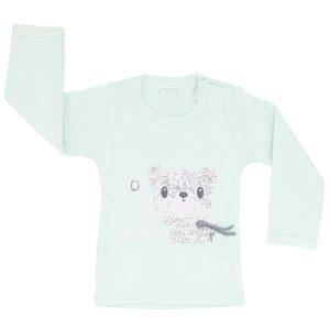 تی شرت اسپرت آستین بلند زانکو طرح خرس