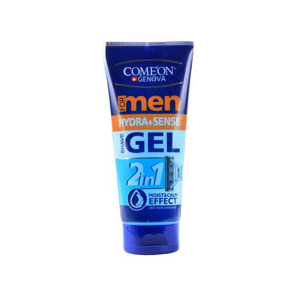 ژل اصلاح مردانه کامان مدل آبرسان مناسب پوست های حساس 175 میل