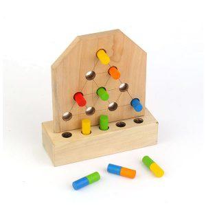 بازی دو رنگی چوبین
