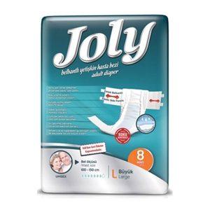 پوشک کامل بزرگسال جولی Joly سایز L بسته 8 عددی