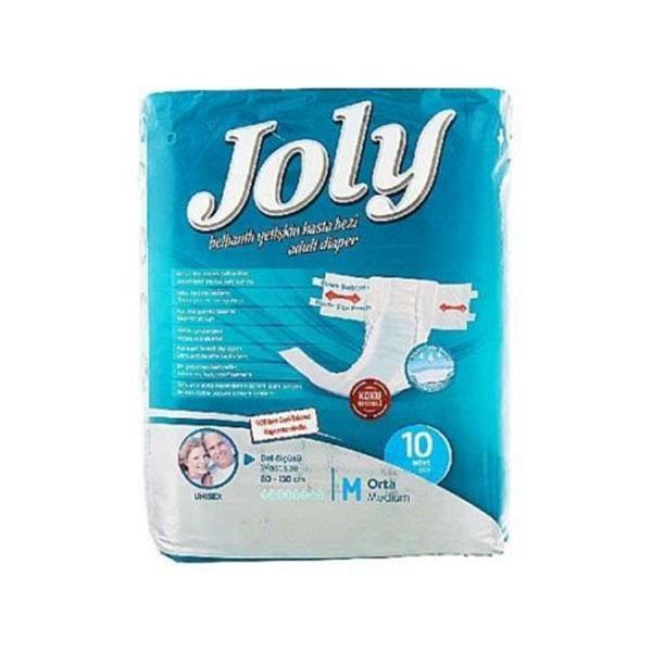 پوشک کامل بزرگسال جولی Joly سایز M بسته 10 عددی