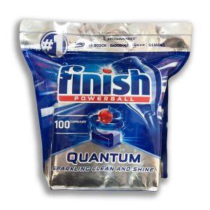 قرص ماشین ظرفشویی فینیش مدل کوانتوم بسته 100 عددی