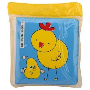 کتاب حمام کودک طرح حیوانات کد 484
