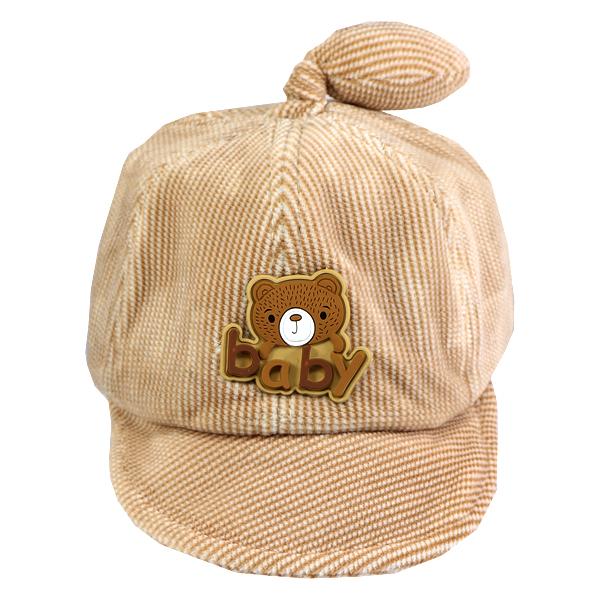 کلاه نقاب دار بچه گانه کد 1313 کرم