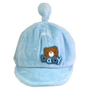 کلاه نقاب دار بچه گانه کد 1313 آبی