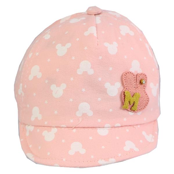 کلاه نقاب دار بچه گانه کد 3904 گلبهی