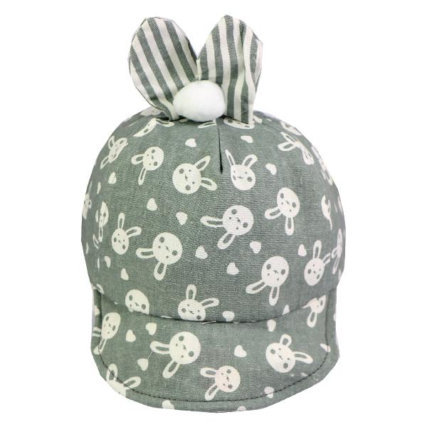 کلاه نقاب دار بچه گانه کد 1304 طوسی