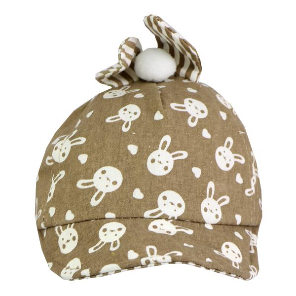 کلاه نقاب دار بچه گانه کد 1304 قهوه ای
