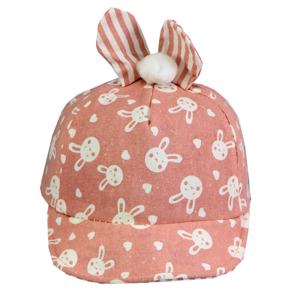 کلاه نقاب دار بچه گانه کد 1304 صورتی