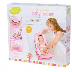صندلی حمام آسان شور نوزاد صورتی ماستلا (Mastela)