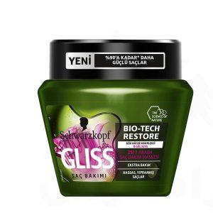 ماسک مو حساس و آسیب دیده گلیس حجم 300 میل