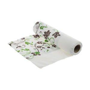 سفره یکبار مصرف کاغذی آویس پلاست رول 10 متری