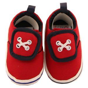 پاپوش نوزادی کوکالو مدل ونس رنگ قرمز