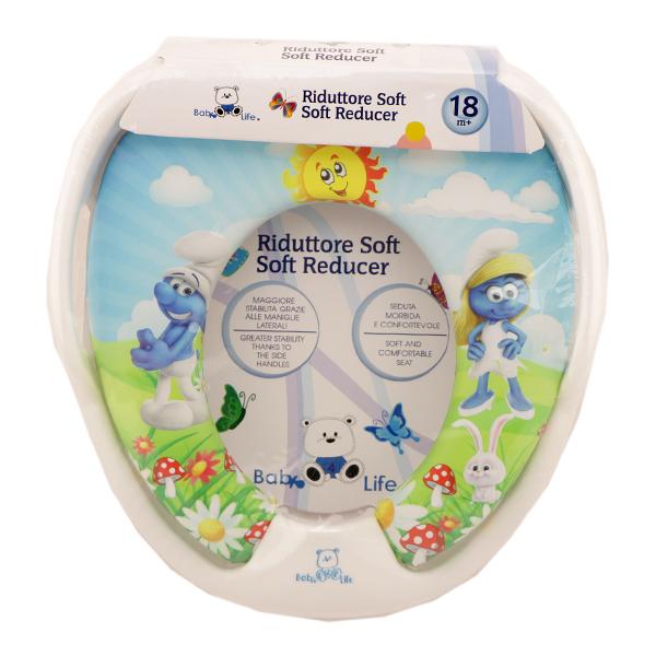 تبدیل توالت فرنگی کودک Baby 4 life طرح اسمورف ها