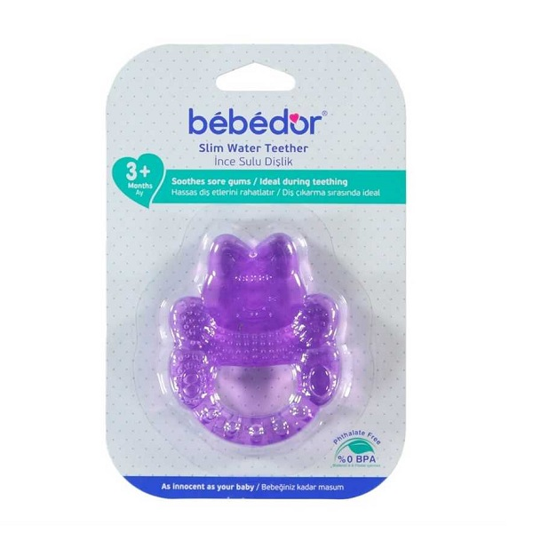 دندانگیر مایع دار به به دور bebedor کد 516 طرح قورباغه